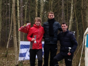 Podium Mannen Senioren Trail