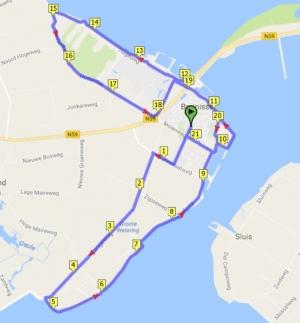 parcours Ronde van Bruinisse